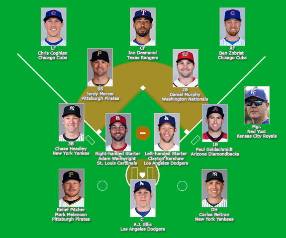Face to Face 2016 Baseball All-Stars