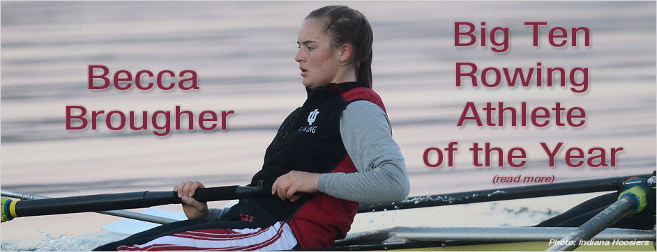 Becca Brougher - Big Ten Athlete of the Year